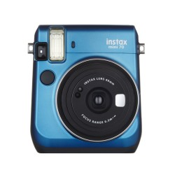 instatní fotoaparát instax fujifilm modrá instax mini 70 island blue (1)