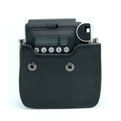 instatní fotoaparát instax fujifilm černé kožené poudro mini 90 camera case BK black (2)