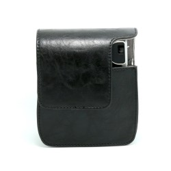 instatní fotoaparát instax fujifilm černé kožené poudro mini 90 camera case BK black (4)
