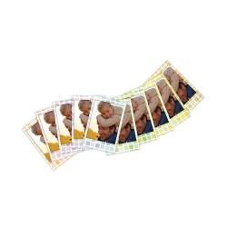 foto papír do instaxu mini colorfilm instax mini stined glass 10 kusů 1 (2)