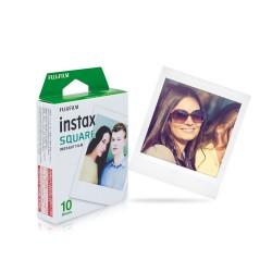 instatní fotoaparát instax fujifilm fotopapír white rámeček 10ks square white frame polaroid náplně (2)