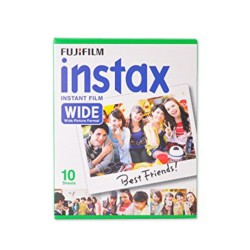 instatní fotoaparát instax fujifilm fotopapír white rámeček 10ks wide white frame polaroid náplně (1)