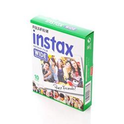 instatní fotoaparát instax fujifilm fotopapír white rámeček 10ks wide white frame polaroid náplně (3)
