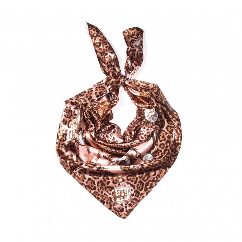 čtvercový saténový šátek na krk (42) (1)