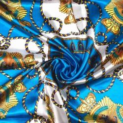 čtvercový saténový šátek na krk (29) (1)