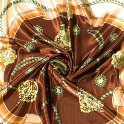 čtvercový saténový šátek na krk (26) (1)