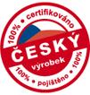 Odznak - 100% český výrobek